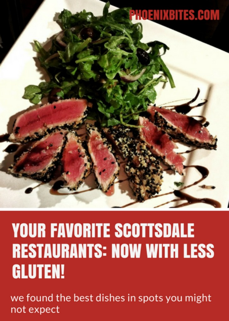 Surprising Scottsdale restaurants with gluten free menu items