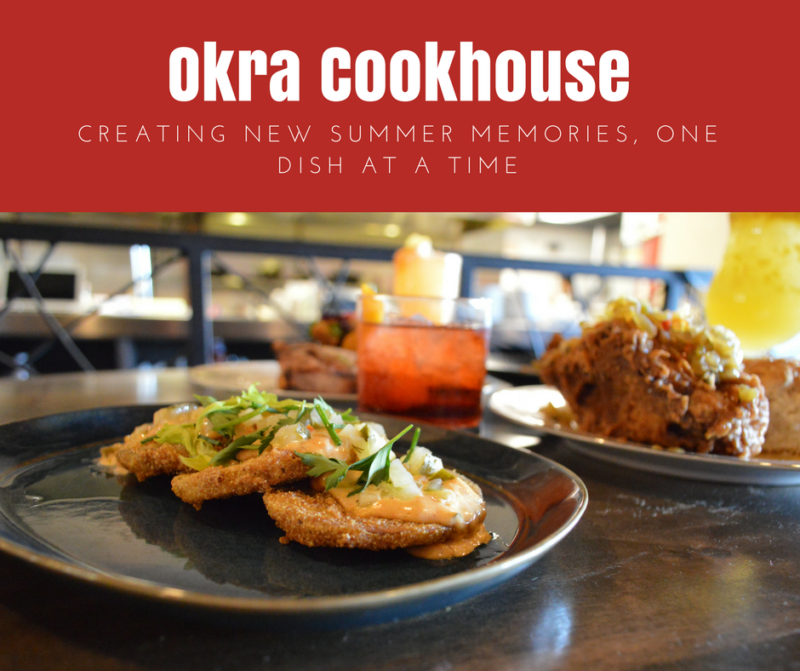Okra Cookhouse is creating new summer memories one dish at a time