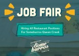 Someburros Hosting Job Fair for Queen Creek Location