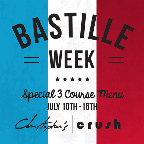 Celebrate Bastille Week with Chef Christopher