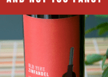 Novelity Wine Labels- For Fun and Not Too Fancy