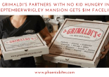 This September Grimaldi's Partners with No Kid Hungry