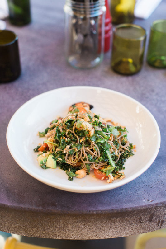 Twisted Grove Parlor + Bar Twisted Noodle Salad