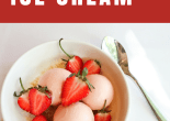 strawberry ice cream recipe