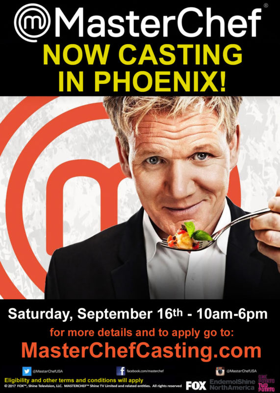 Phoenix MasterChef Auditions