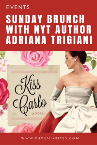 Sunday Brunch with NYT Author Adriana Trigiani