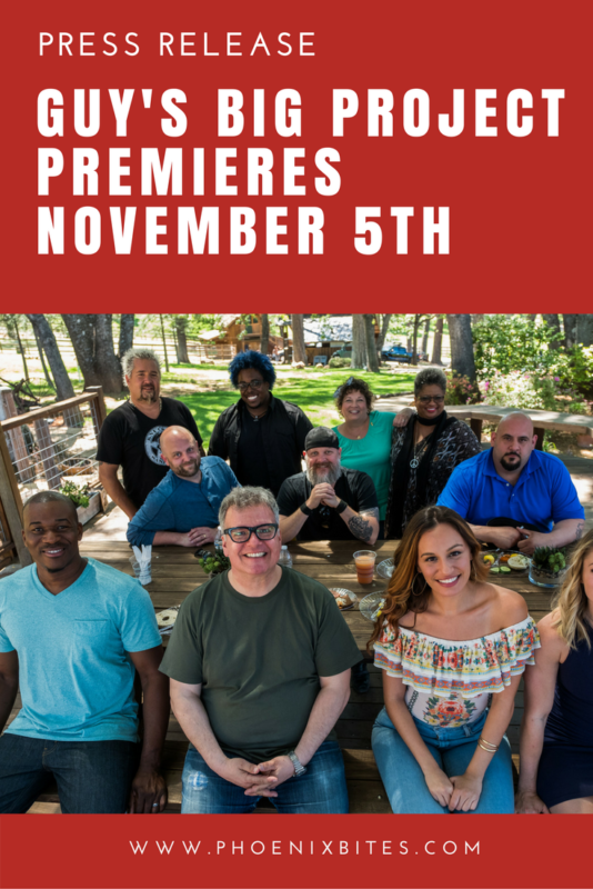 Guy's Big Project Premieres November 5th