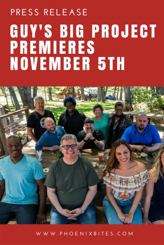Guy's Big Project Premieres November 5th