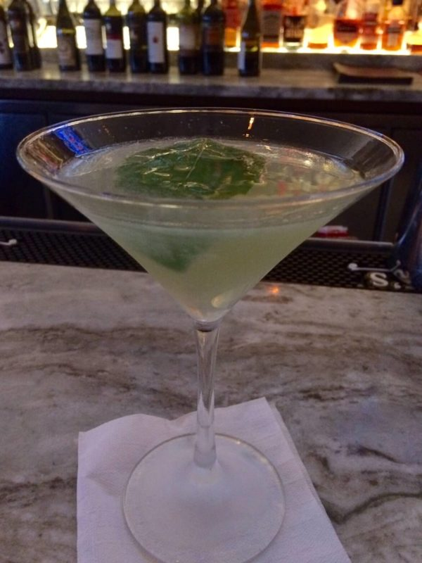 Fat Ox Happy Hour Basil Grapefruit Martini