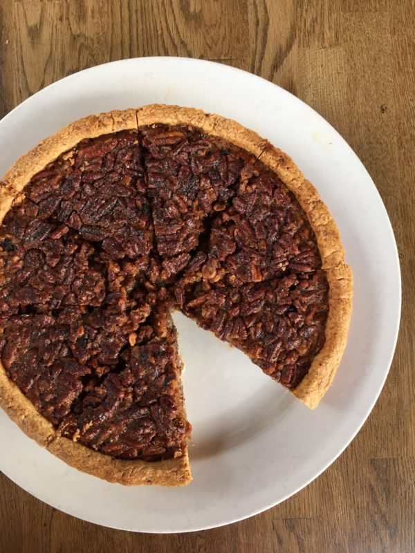 Justin Beckett's Fig & Pecan Pie