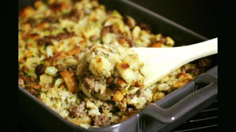 perk eatery sausage and sage stuffing