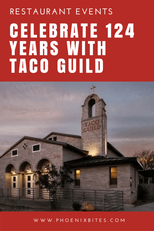 Celebrate 124 Years with Taco Guild