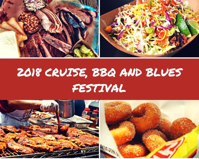 2018 Cruise, BBQ and Blues Festival