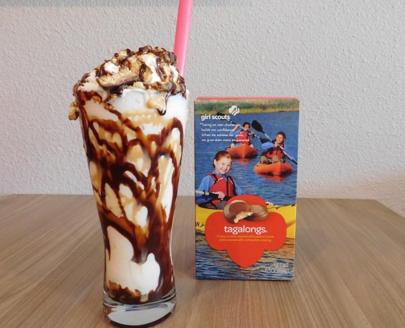 Aioli Burger Tagalong You're It Premier Milk Shake
