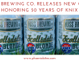 Huss Brewing Co. Releases KNIX Cans
