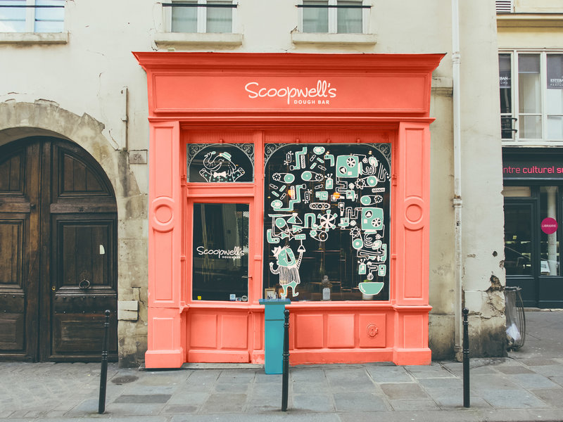 scoopwell's dough bar_store front