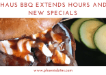 051218 Trapp Haus BBQ Extends Hours and Adds New Specials
