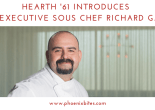 Hearth 61 Introduces New Executive Sous Chef Richard Garcia