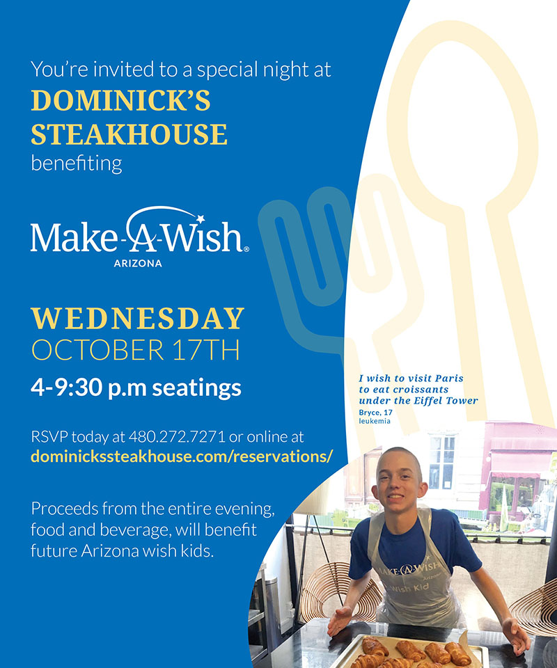 dominicks make a wish benefit