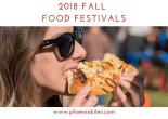 2018 Fall Food Festivals