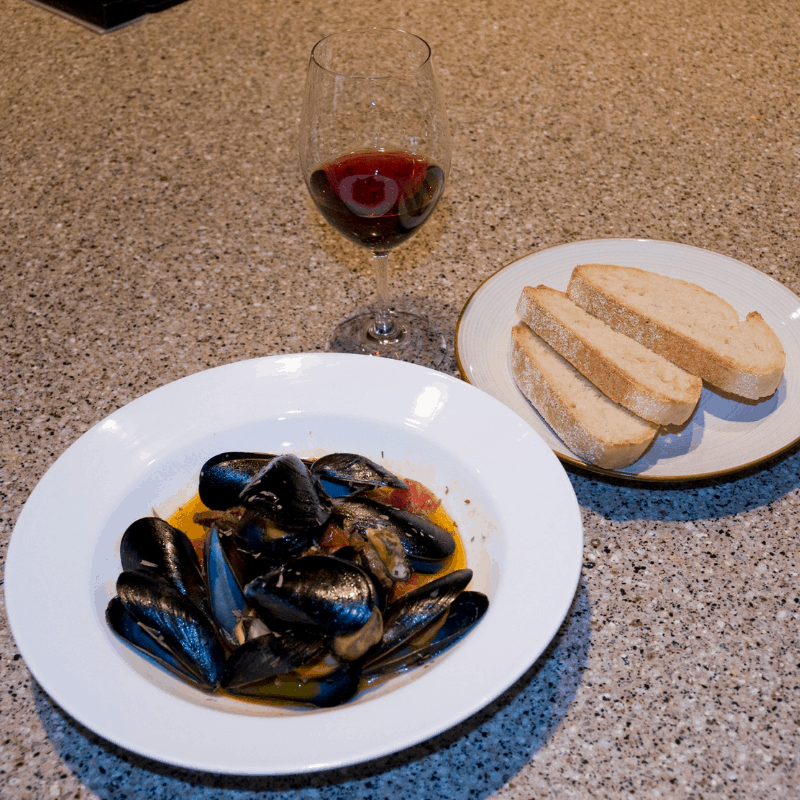 111818 Rosè and Cioppino
