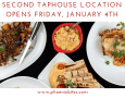 Second TapHouse Location Opens Friday, January 4th