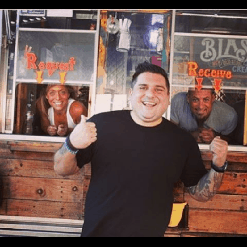 010919 Chef Brad Miller hosts Food Truck Nation