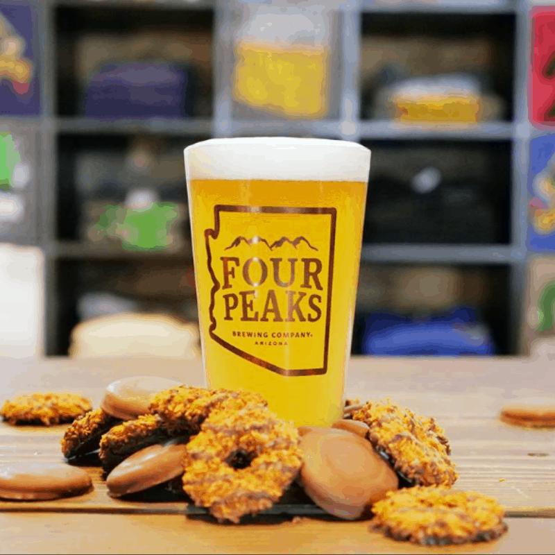 011219 Four Peaks Girl Scout Cookie & Beer Pairing