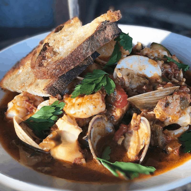 Southern Rail Seafood Stew