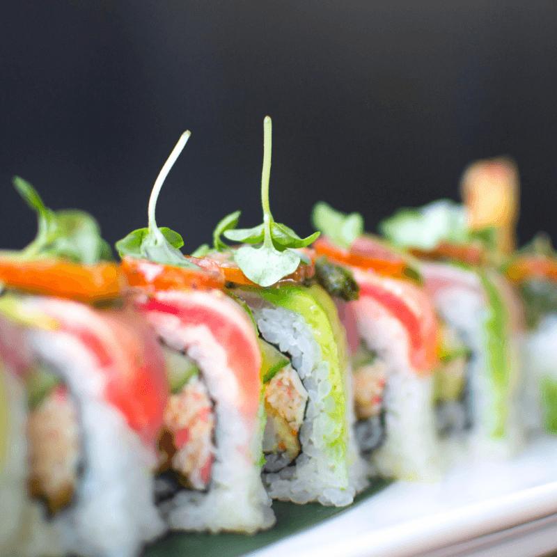 OBON Sushi rolls