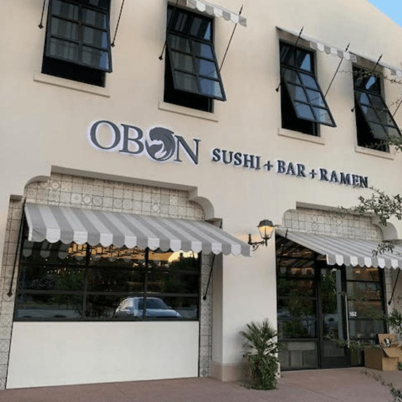 OBON Sushi Scottsdale exterior