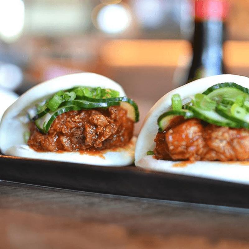 OBON Sushi steamed buns