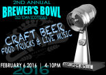 2nd Annual Brewers Bowl