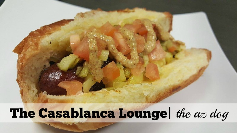 4 of the Best Hot Dogs in Scottsdale: The Casablanca Lounge AZ Dog