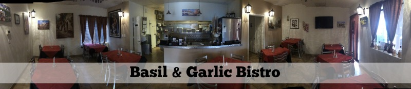5 Small Restaurants in Scottsdale: Basil & Garlic Bistro