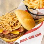 Smashburger BBQ Bacon Cheese w Fries