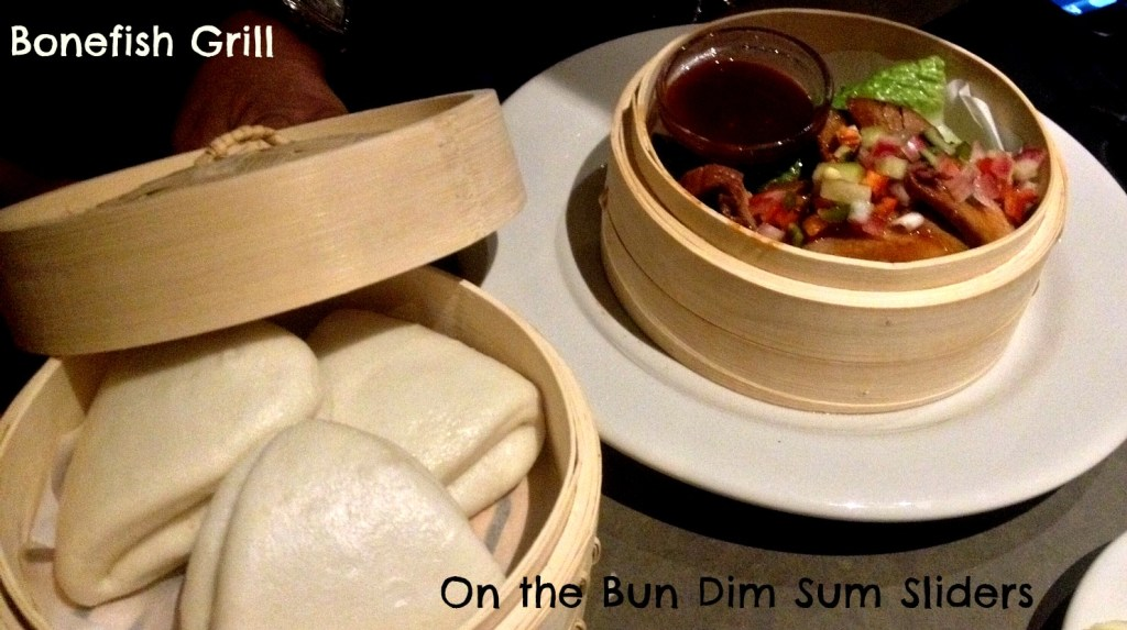 Bonefish Grill On the Bun Dim Sum Style Sliders
