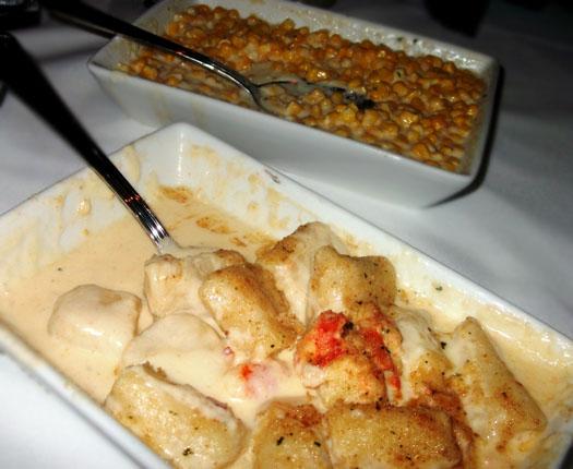 New Restaurant Open at Scottsdale Quarter: Dominick's Steakhouse: Creamed Sweet Corn
