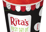 Rita's Italian Ice First Day of Spring Cup