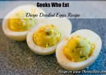 Geeks Who Eat's Diego Deviled Egg Recipe