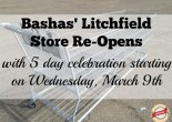 Newly remodeled Litchfield Park Bashas' celebrated re-opening with 5 day celebration