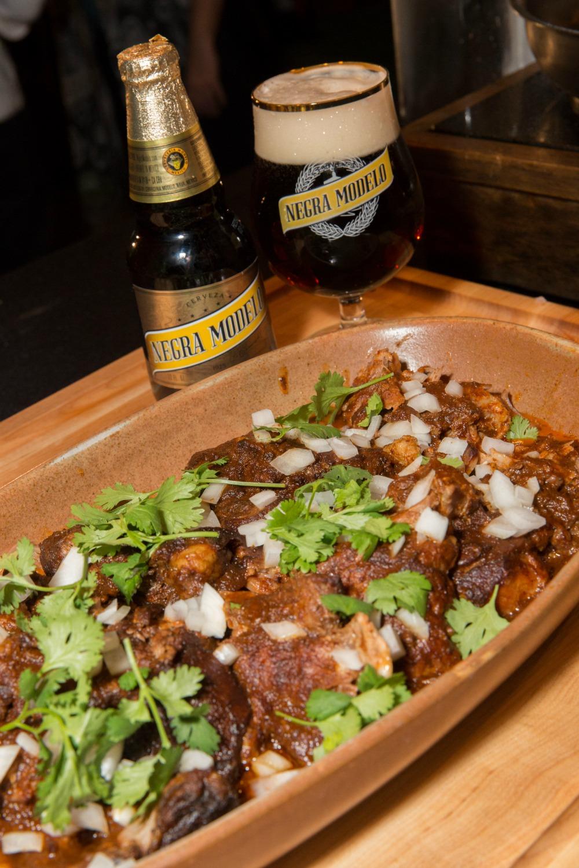 Negra Modela Chef Rick Bayless Lamb Barbacoa Tacos