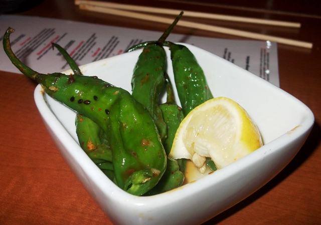 RA Sushi Shishito Peppers