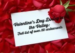 Valentine's Day Dining in the Valley