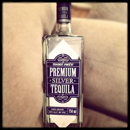 Trader Joe's Premium Silver Tequila
