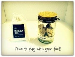 Foodie Dice & Mixology Dice