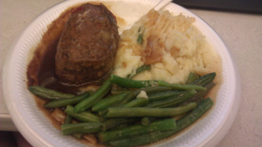Beef Sirloin with morel sauce, mashed potatoes and green beans
