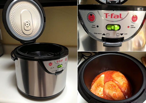 Cooking with T-fal's Rice & Multi-Cooker