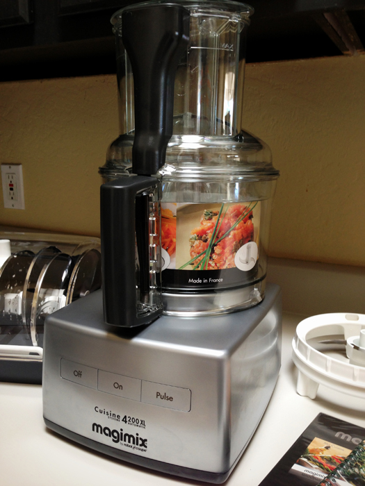 14-Cup Magimix Food Processor in Chrome