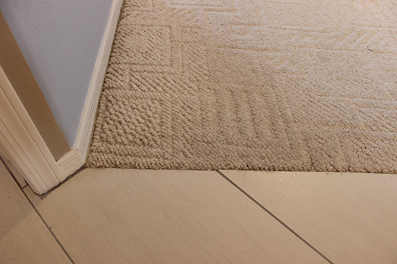carpet to tile wood transitions